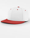 Richardson PTS20 Flexfit Cap, weiss - rot-DIAMOND PRIDE