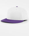Richardson PTS30 Flexfit Light Cap, weiss - purple-DIAMOND PRIDE