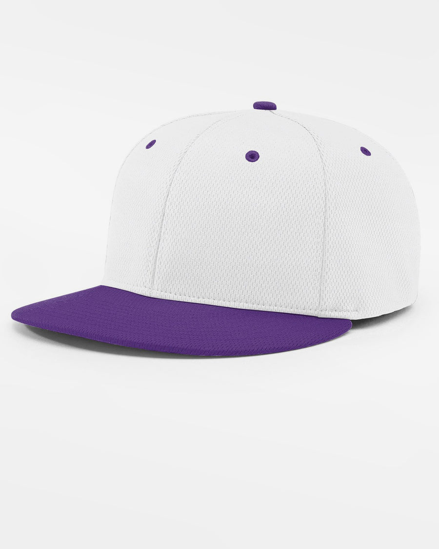 Richardson PTS40 Flexfit Cap, weiss - purple-DIAMOND PRIDE