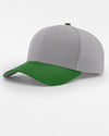 Richardson Strapback Cap, grau - kelly grün-DIAMOND PRIDE