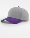 Richardson Strapback Cap, grau - purple-DIAMOND PRIDE