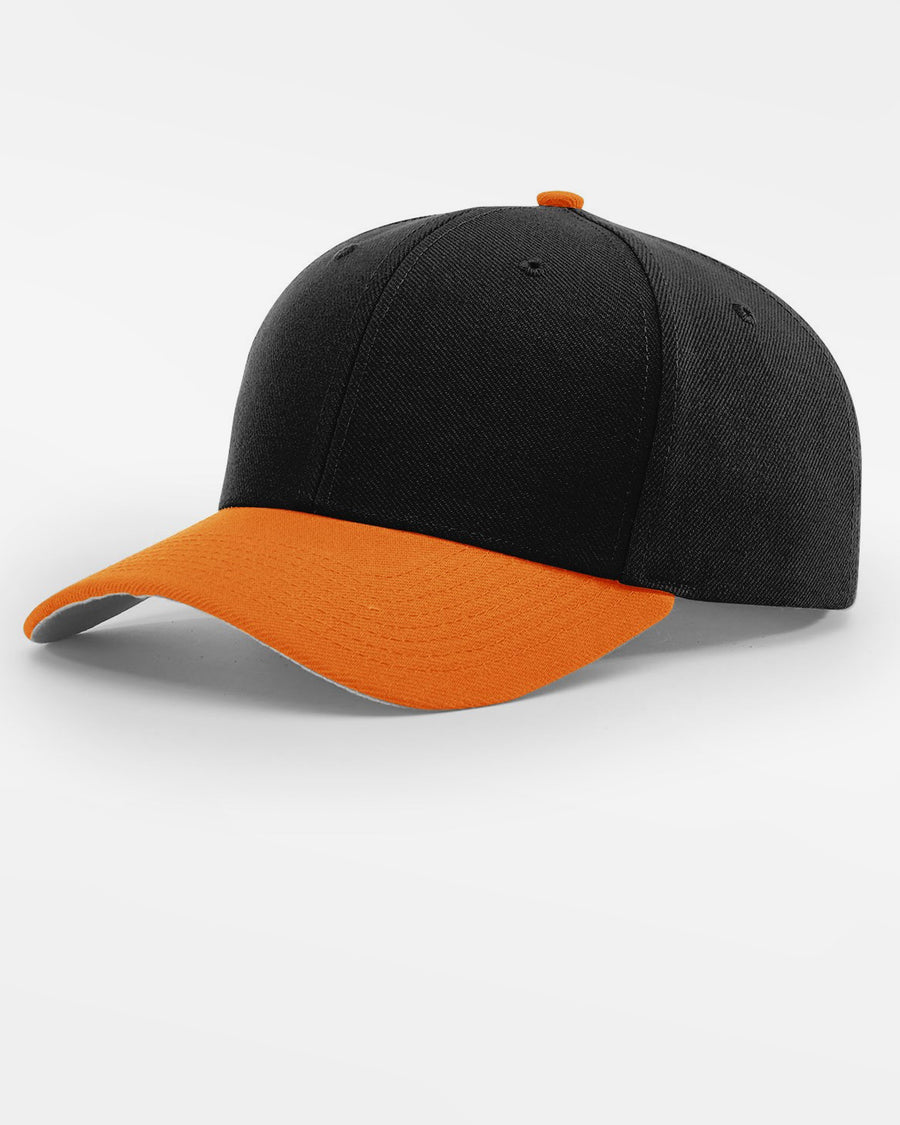 Richardson Strapback Cap, schwarz - orange-DIAMOND PRIDE