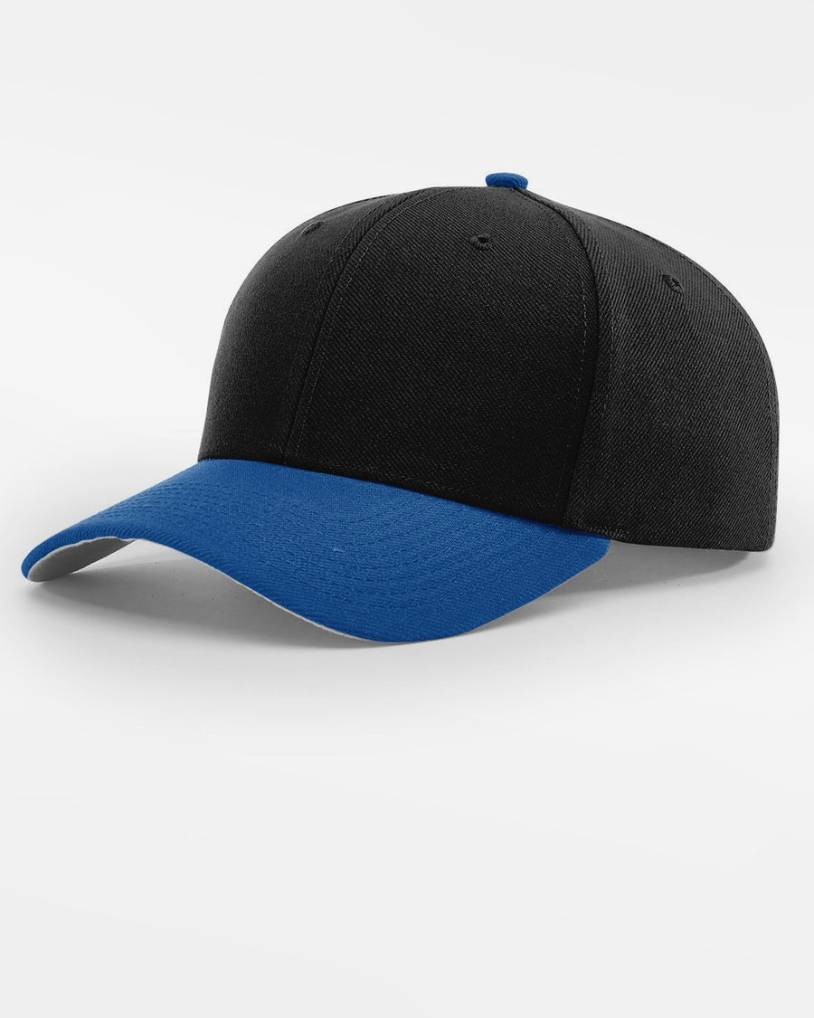 Richardson Strapback Cap, schwarz - royal blau-DIAMOND PRIDE