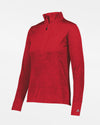 Russell Athletic Dri-Power Ladies Lightweight 1/4-Zip Pullover, heather rot-DIAMOND PRIDE