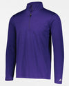 Russell Athletic Dri-Power Lightweight 1/4-Zip Pullover, heather purple-DIAMOND PRIDE