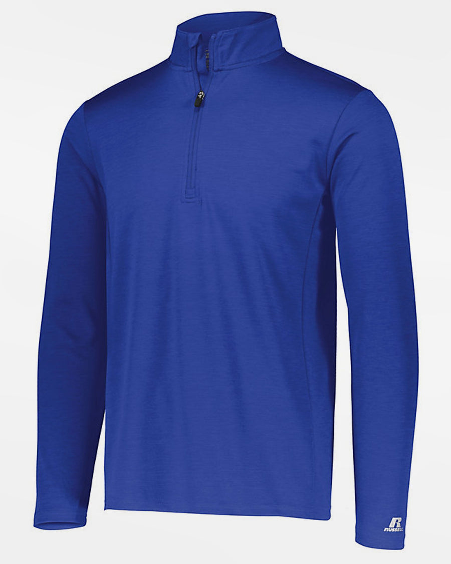 Russell Athletic Dri-Power Lightweight 1/4-Zip Pullover, heather royal blau-DIAMOND PRIDE