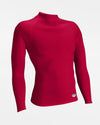 Russell Athletic Performance Compression Longsleeve Mock, rot - AUSLAUFARTIKEL-DIAMOND PRIDE