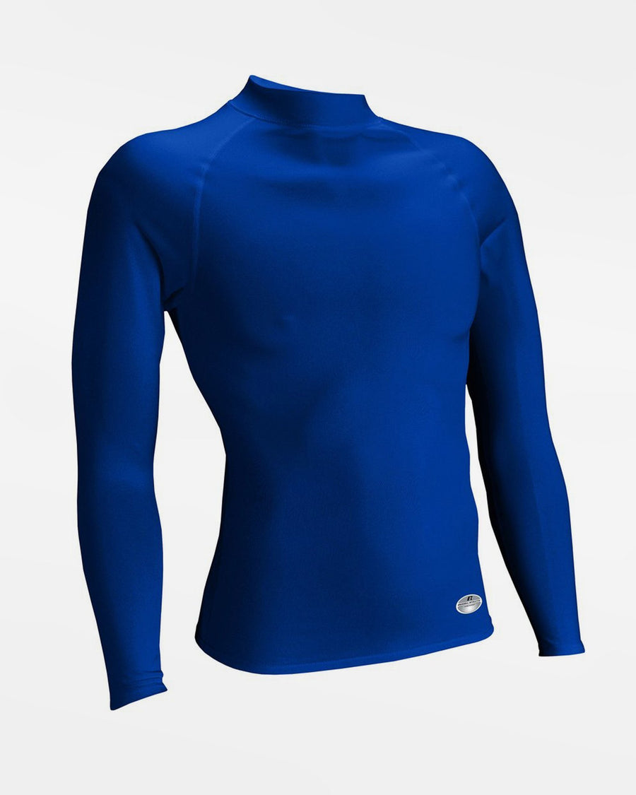 Russell Athletic Performance Compression Longsleeve Mock, royal blau - AUSLAUFARTIKEL-DIAMOND PRIDE