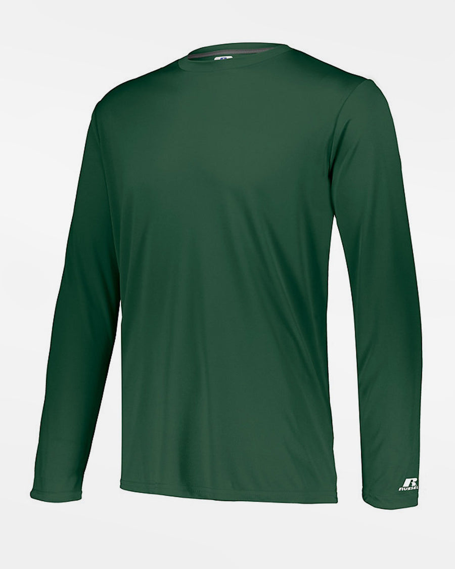 Russell Athletic Stretch-Performance Longsleeve Shirt, dunkelgrün-DIAMOND PRIDE