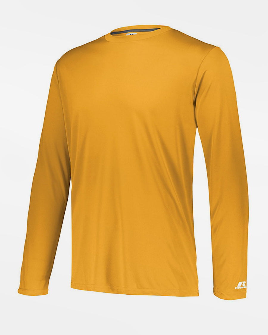 Russell Athletic Stretch-Performance Longsleeve Shirt, gelb-DIAMOND PRIDE
