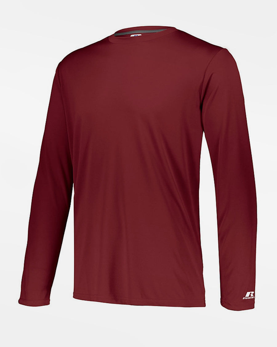 Russell Athletic Stretch-Performance Longsleeve Shirt, weinrot-DIAMOND PRIDE
