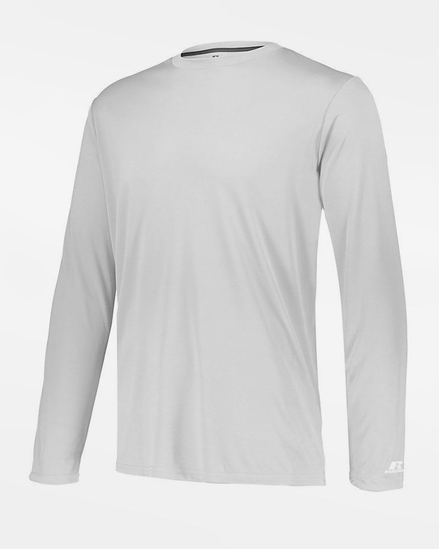 Russell Athletic Stretch-Performance Longsleeve Shirt, weiss-DIAMOND PRIDE