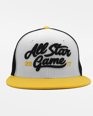 "Snapback Cap ""All Star Game 2017"", schwarz-weiss-gelb-DIAMOND PRIDE"