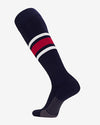 TCK Striped ProSocks, navy blau-rot-weiss-DIAMOND PRIDE