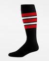 TCK Striped ProSocks, schwarz-rot-DIAMOND PRIDE