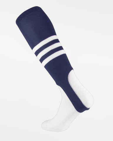 TCK Striped ProStirrup, navy blau-weiss-DIAMOND PRIDE