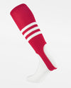 TCK Striped ProStirrup, rot-weiss-DIAMOND PRIDE