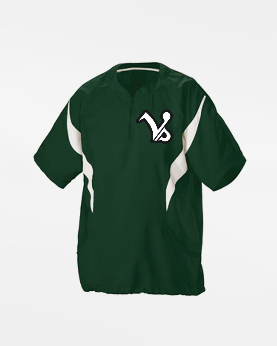 "Teamwork Kids Warmup Pullover ""Kufstein Vikings"", dunkelgrün-DIAMOND PRIDE"
