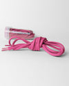 Tube Laces Padded, 130cm, pink-DIAMOND PRIDE