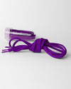 Tube Laces Padded, 130cm, purple-DIAMOND PRIDE