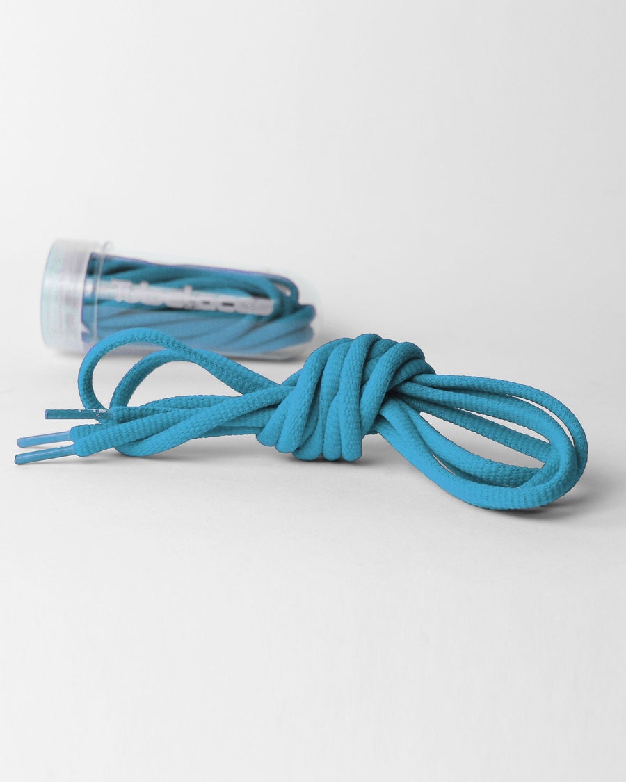 Tube Laces Padded, 130cm, sky blau-DIAMOND PRIDE