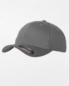 Yupoong Flexfit Combed Wool Cap, grau-DIAMOND PRIDE