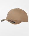 Yupoong Flexfit Combed Wool Cap, khaki-DIAMOND PRIDE