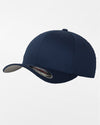 Yupoong Flexfit Combed Wool Cap, navy blau-DIAMOND PRIDE