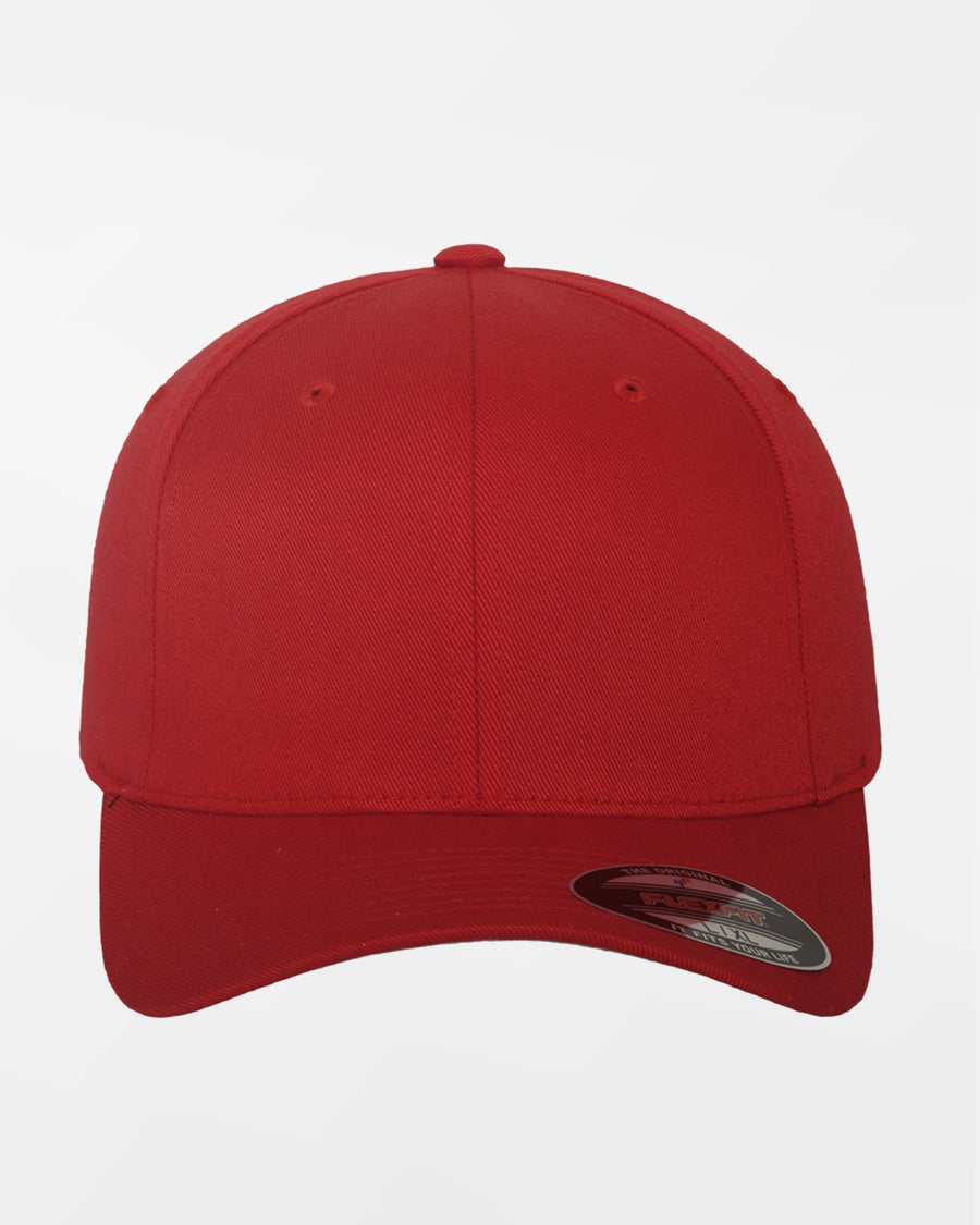 Yupoong Flexfit Combed Wool Cap, rot-DIAMOND PRIDE