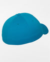 Yupoong Flexfit Combed Wool Cap, teal blau-DIAMOND PRIDE