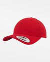 Yupoong Flexfit Curved Classic Snapback Cap, rot-DIAMOND PRIDE