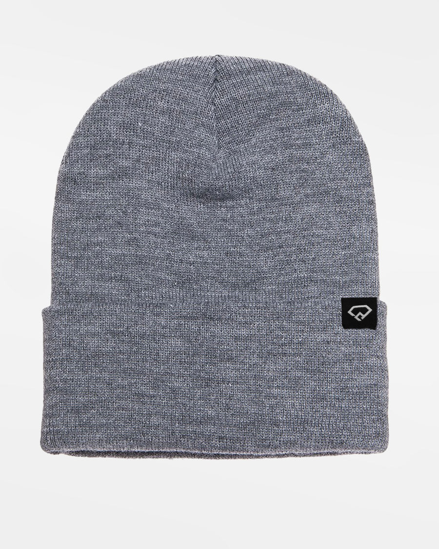 Yupoong Flexfit Heavyweight Long Beanie, heather grau-DIAMOND PRIDE