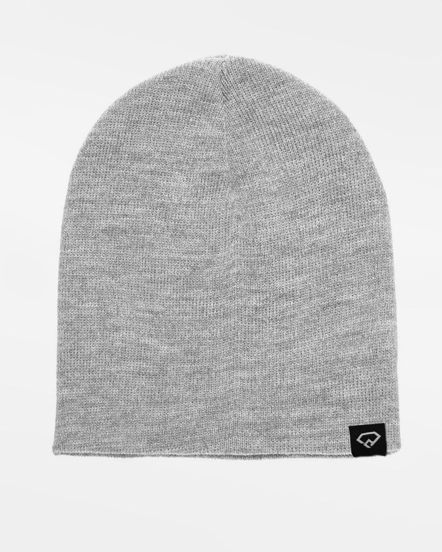 Yupoong Flexfit Heavyweight Short Beanie, heather grau-DIAMOND PRIDE