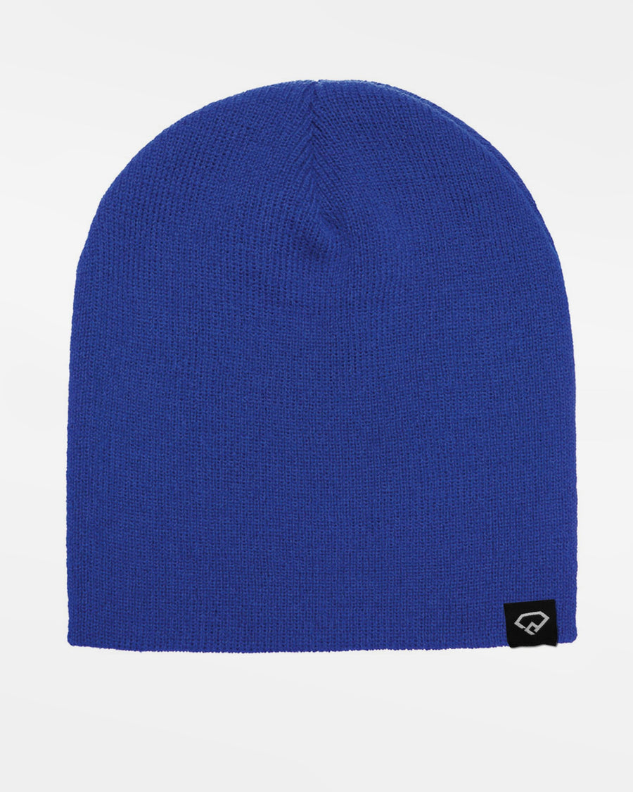 Yupoong Flexfit Heavyweight Short Beanie, royal blau-DIAMOND PRIDE