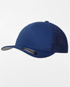 Yupoong Flexfit Mesh Trucker Cap, royal blau-DIAMOND PRIDE