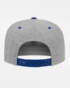 Yupoong Snapback Cap 2-Tone, heather grau-royal blau-DIAMOND PRIDE