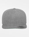 Yupoong Snapback Cap, heather grau-DIAMOND PRIDE