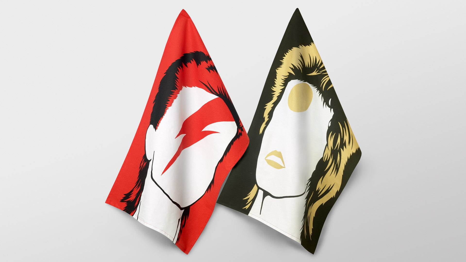 Rock Icons Tea Towels