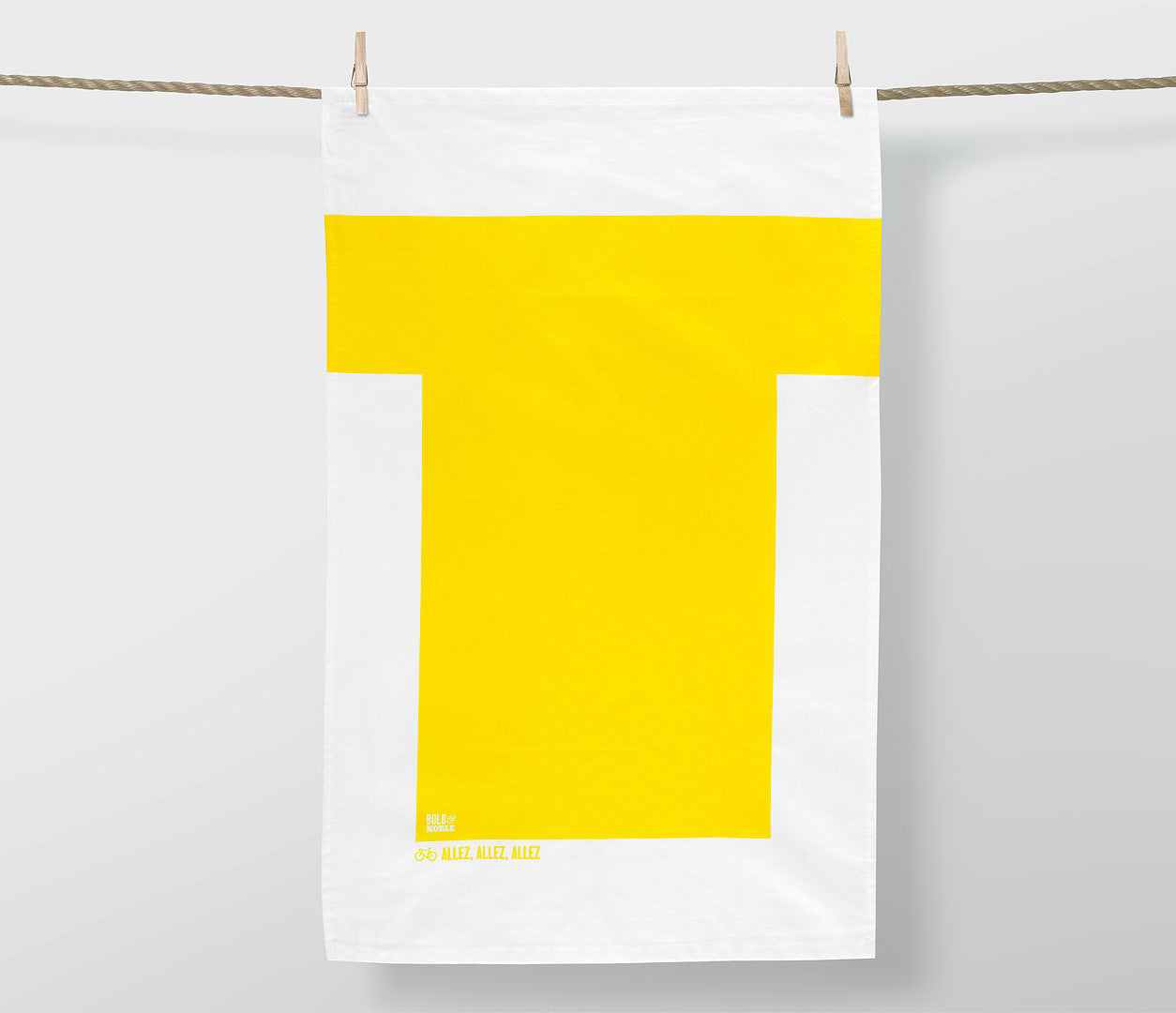 'Tour de France- Yellow Jersey' Tea Towel
