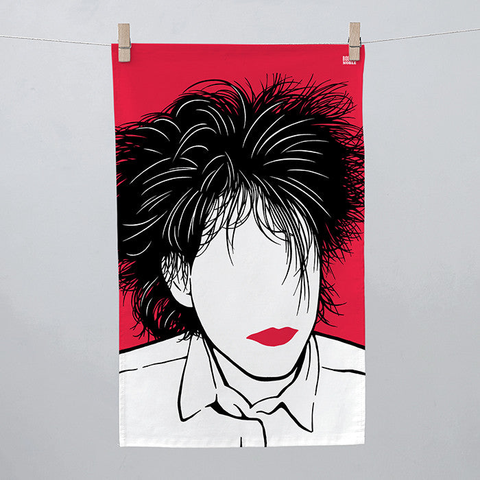 Robert Smith, Rock Icon Tea Towel
