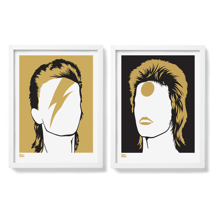 David Bowie, Rock Icon Art Prints, Modern Prints for the Home