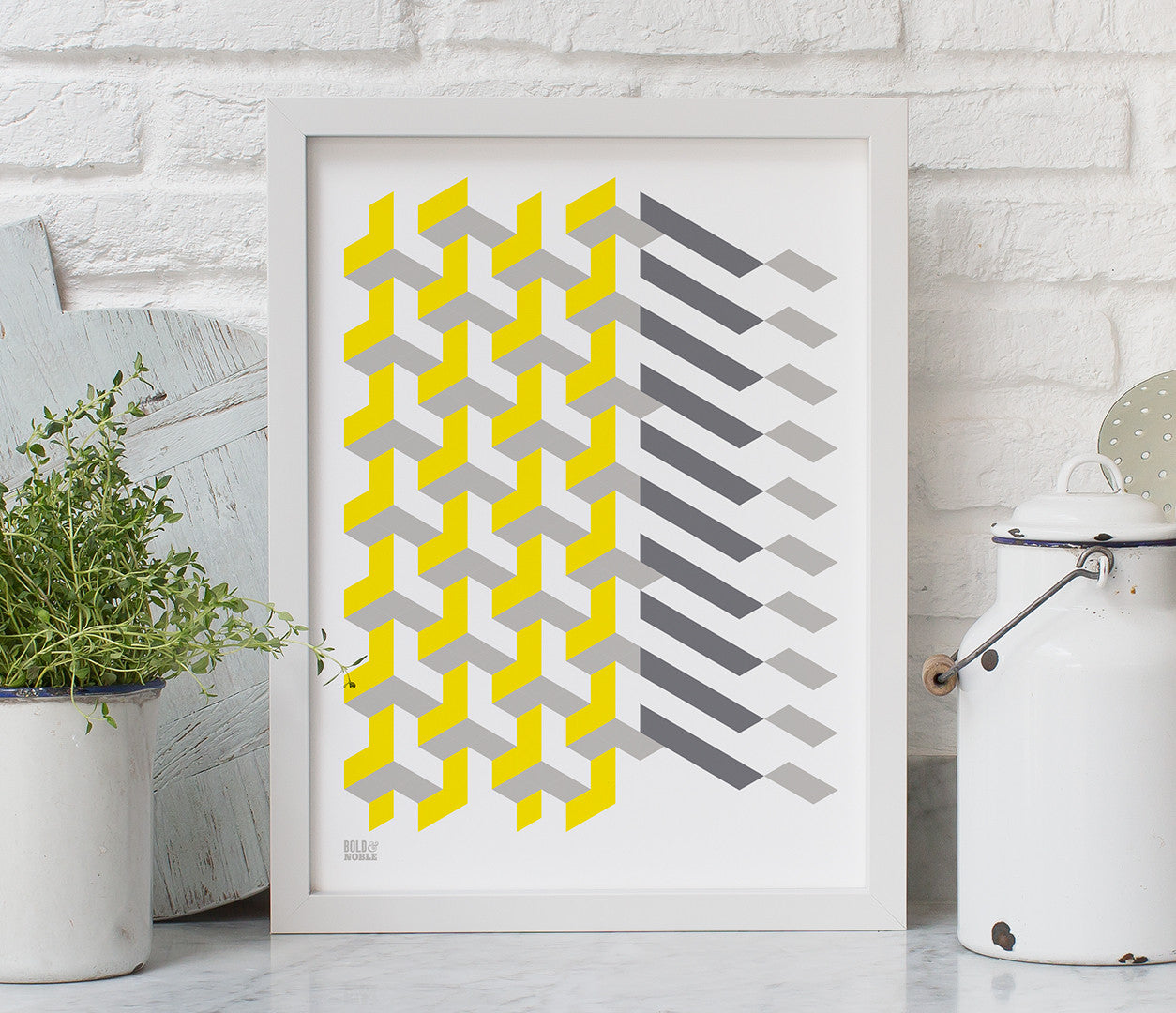Geometric Polygon Art Print Design, Modern Print Designs for the Home
