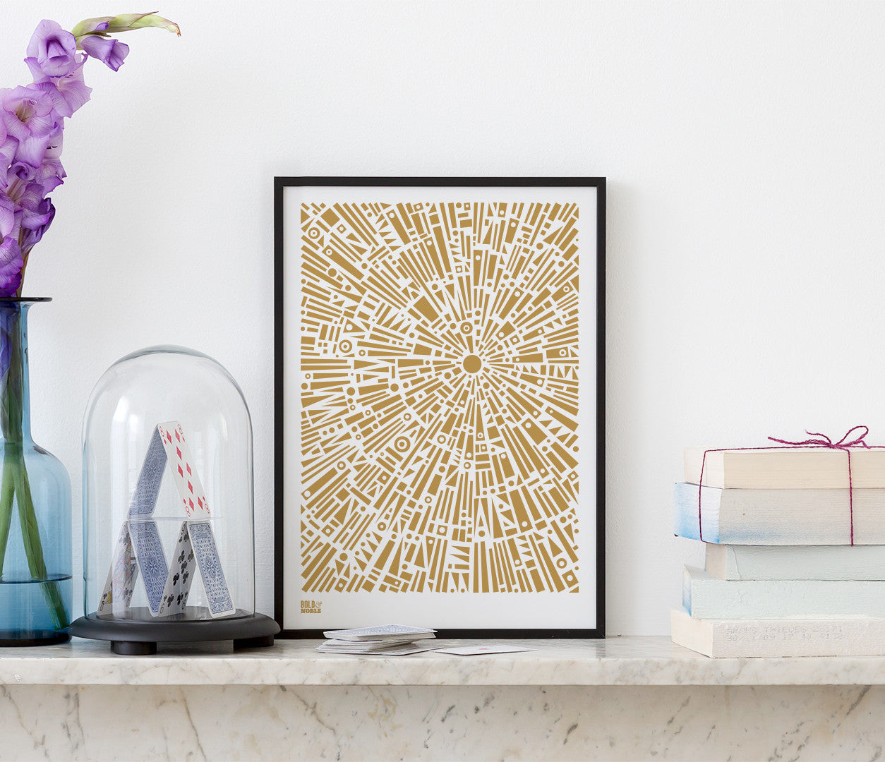 Wall Art ideas: Economical Screen Prints, Morning Light Print in Bronze