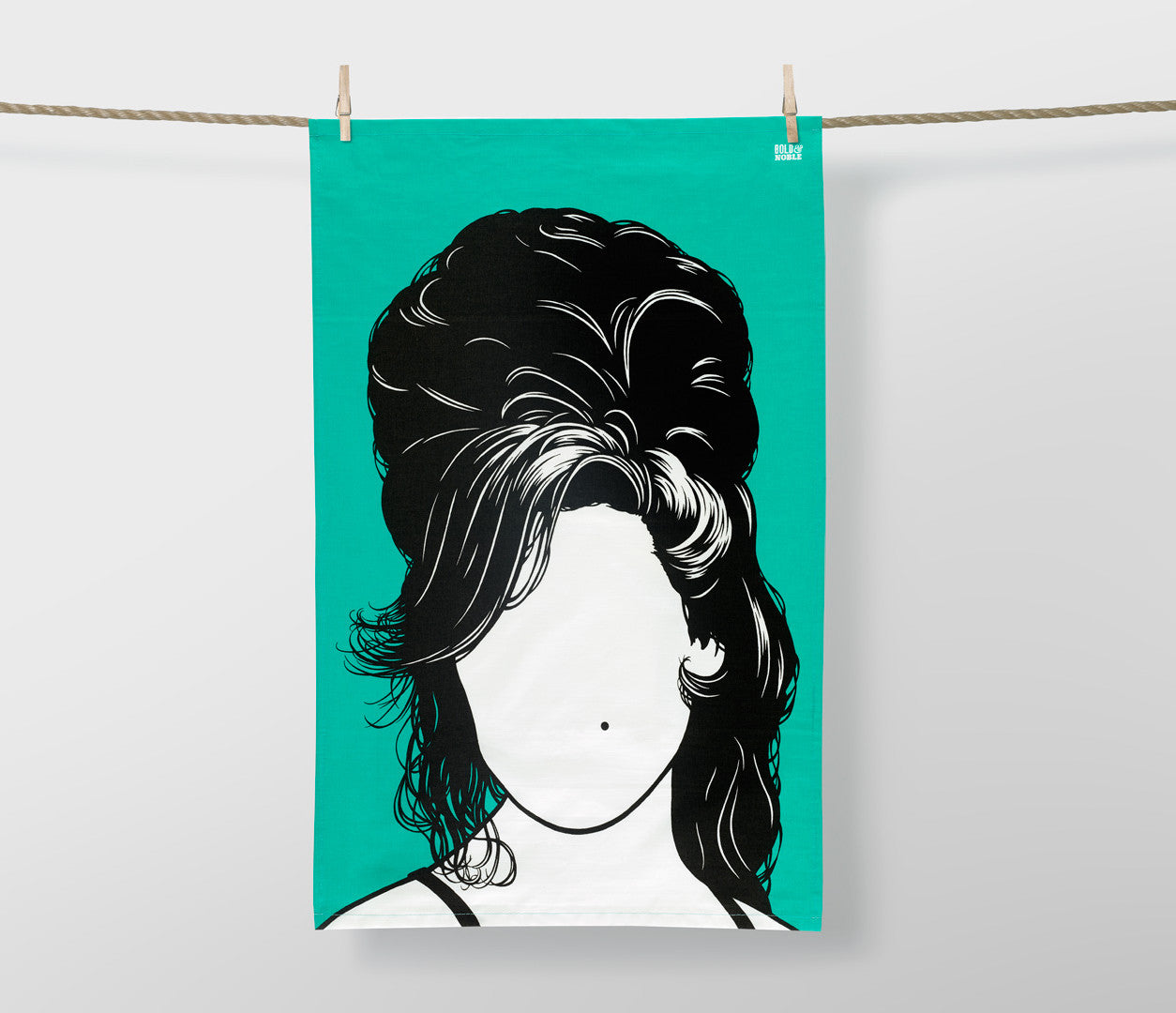 'Amy Winehouse, Madonna & Bjork' Tea Towel Set