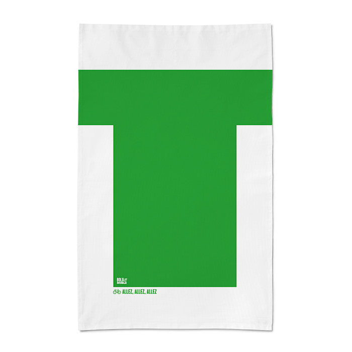 'Tour de France- Green Jersey' Tea Towel