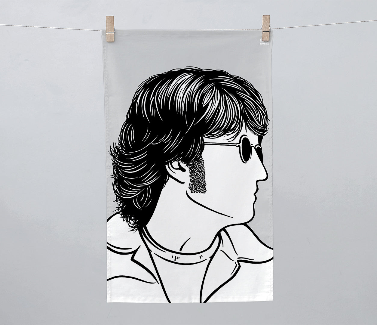 John Lennon 'Beatles' Tea Towel