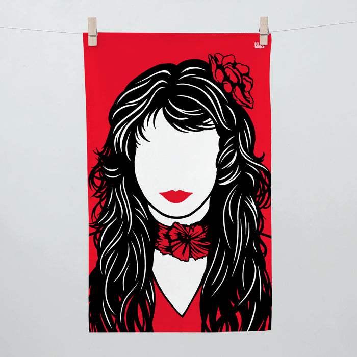 Kate Bush Tea Towel