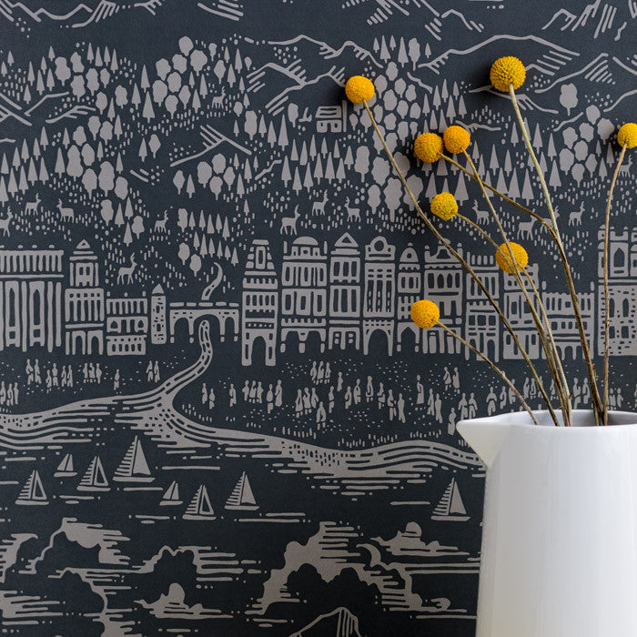 Province Town and Country Wallpaper, printed in the UK, deliver worldwide