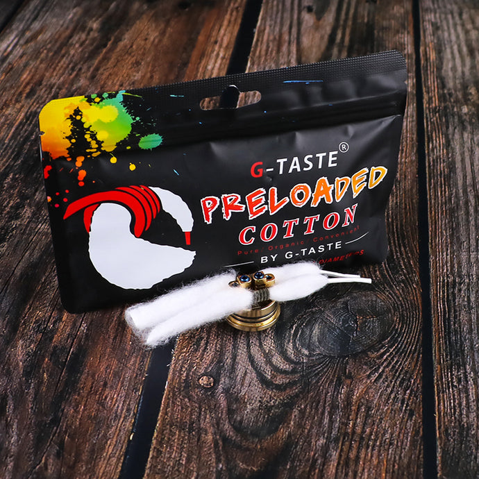 G-taste preloaded cotton -G-taste-vape