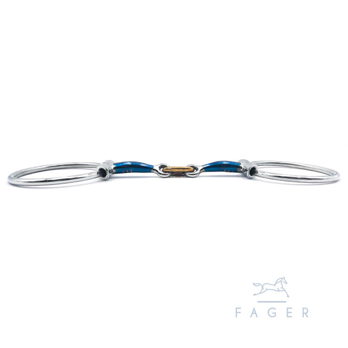 Fagers French Link 45° Gebiss mit Wings - ALEXANDER